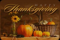 Special Thanksgiving Background