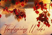 Thanksgiving email backgrounds. Autumn Serenity