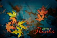 Thanksgiving email backgrounds. Leaves On Lake