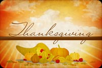 Thanksgiving Warm Wishes Background