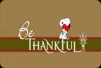Be Thankful Background
