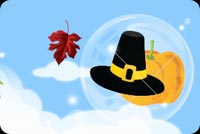 A Wonderful Thanksgiving Wish Background