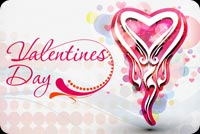 Valentines day email backgrounds. Valentine's Day Heart