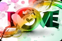 Color Of Love Background