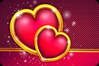 Valentines day email backgrounds. Love Hearts Theme