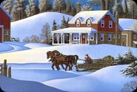 Winter email backgrounds. A Beautiful Winter Houses