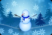 Winter email backgrounds. Best Wishes For Holidays