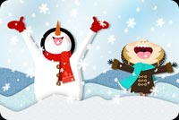 Winter email backgrounds. Season Full Of Fun