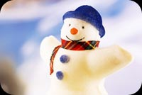 Winter email backgrounds. Snowman Hug Me!