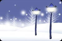 Winter email backgrounds. Winter Night